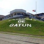 Gatun Locks Entrance Panamá Canal