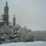 Snow over the Pilar