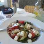 1st visit, Greek salad