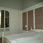 Bedroom with Art Nouveau wardrobes