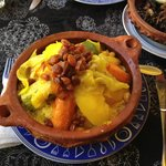 Tajine with Couscous and vegetables