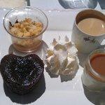 Délicieux café gourmand
