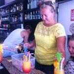 charlotte makin the kiddies there cocktails Xxx