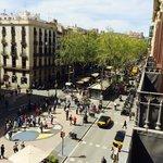 View towards Placa de Catalunya