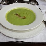 Make sure to try their Asparagus Soup!