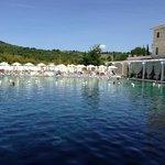 La stupenda piscina termale