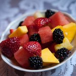 Fresh fruit in the mornings with breakfast everyday.by 3rd Eye Photography