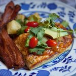 Breakfast Chili Egg Puff with Bacon by 3rd Eye Photography