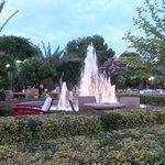 Springbrunnen in der Kleopatra-Bar