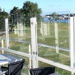 Une autre vue de la terrasse du QG...