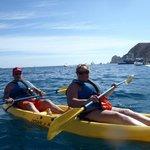 Kayaking in Cabo at Medano beach