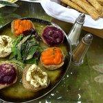 Amuse bouche auf kretisch modern - mit Brot