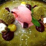 Dessert im Restaurant Avli