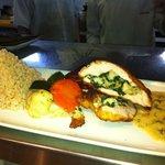 Lobster & Spinach Stuffed Chicken