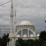 De moskee bij de rotonde