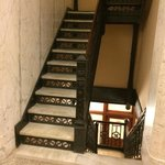 Original marble staircase