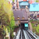 Funicular between Upper and Lower Town