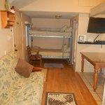 Unit 4's Living Room area