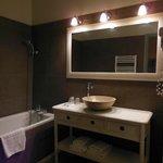 la salle de bains romantique