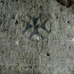 Armenian cross frescoe