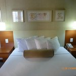 Cama de casal - Excelentes colchão e travesseiros.
