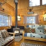 Doubletop Cabin interior