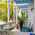 Our porch at Parrot Key Resort