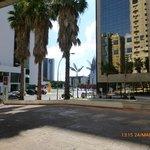 Entorno do Comfort Suites Brasilia.