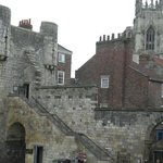 Another access option to the York Walls