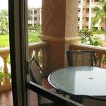 1 bedroom suite balcony.
