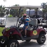 Gulf Cart Rental was a blast