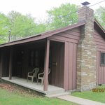 Front side of Cabin #16