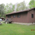 Back side of Cabin #16