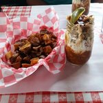 Skillet Fries and BBQ sunday