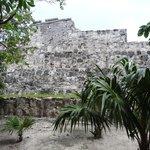 ruins outside