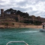 Arriving from Lloret de Mar by Boat