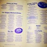 Menu page 3 of 3