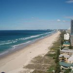 Broadbeach, another great location for wining and dining is a 15 minute walk along the beach to