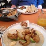 shrimp tacos for brunch one day