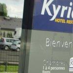 ブリット ホテル トゥール シュッド ・・・入り口サイン