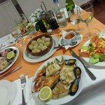 Una sera a cena al ristorante di Las Faluas