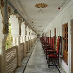 balcony overlooking Lake Pushkar