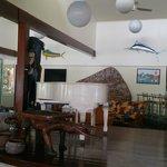Haus Win dining room at Madang Hotel Resort