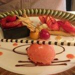 chef d'oeuvre autour de la fraise