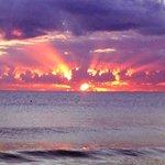 Another beautiful sunrise at Ellis Beach