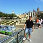 Passeio de ônibus em Barcelona-Esp.