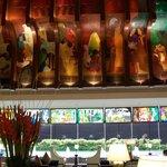 dining area murals