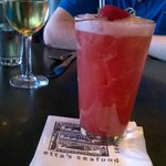Strawberry Basil drink