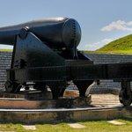 50,000 pound Rodman Gun at Fort Moultrie