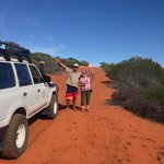 Amazing colours after the rain as we explore Red Sand Country on South Peron 4wd Adventure
